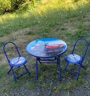 Kids padded soft table and 2 chairs SUPER CUTE for Sale in Olympia, WA