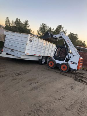 Skid steer-bobcat work for Sale in Hesperia, CA