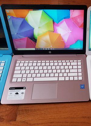 HP Stream 14in Laptop Windows 10 - 4GB Ram, 64GB Storage - Webcam HDMI 3X USB Bluetooth for Sale in New York, NY