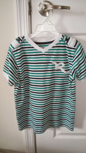 Boys size 7 ™Rocawear short sleeve v neck shirt for Sale in Falls Church, VA