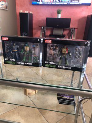 Batman V Teenage Mutant Ninja Turtles GameStop Exclusive for Sale in Huntington Beach, CA