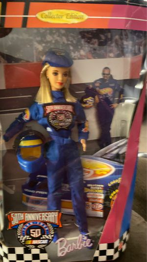 50th Anniversary NASCAR Barbie for Sale in Winston-Salem, NC