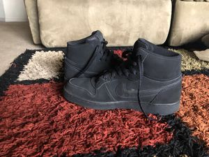 Nike Court Vision Mid-Top Sneaker - Men's - Black for Sale in Bend, OR