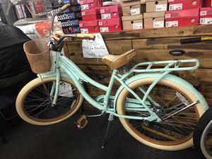"Huffy ladies 24"" Nel Lusso Ladies Cruiser Bike Mint Green. Retail 149.99 Please read description!!!! for Sale in Forest Park, GA"