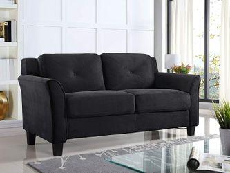 *Brand New* Lifestyle Solutions Harrington Loveseat, Black for Sale in Dublin,  OH