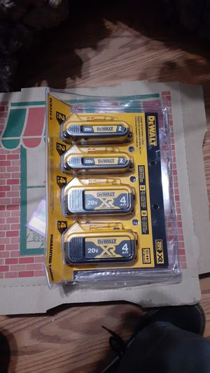De walt battery pack for Sale in Hayward, CA