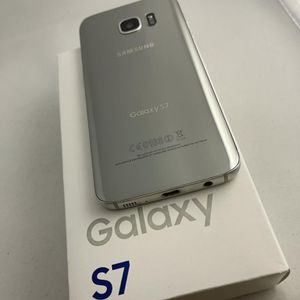 Samsung Galaxy S7 32Gb, Silver Color, Excellent Condition, Unlocked For Any Company. $150 Firm for Sale in Round Rock, TX