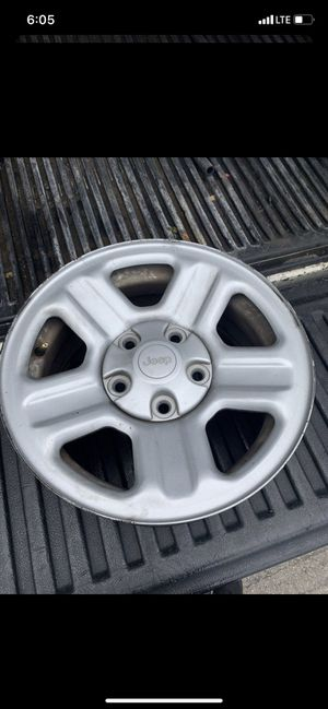 "16"" Jeep wheels 5x5 for Sale in San Antonio, TX"