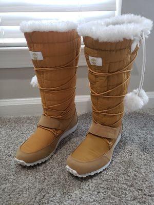 TIMBERLAND Calf High Boots - Tan - Womens Size 9 - 91385 for Sale in Stonecrest, GA