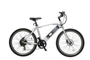 GENZE E101 SPORT ELECTRIC BIKE- SILVER 350 WATTS electric bike electric scooter electric bicycle electric motorcycle moped for Sale in Aventura, FL