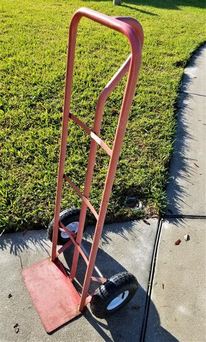 Dolly, Handle Steel Hand Truck with Rubber Wheels for Sale in Thonotosassa, FL