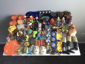 McDonald's Happy Meal Toys 1990's 75+ pc for Sale in Schaumburg, IL