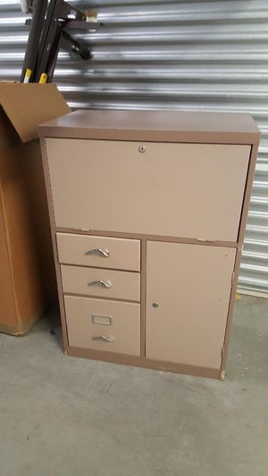 3 drawer cabinet , with file space. for Sale in Arlington, TX