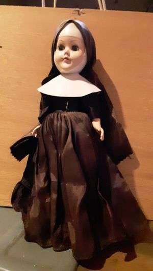 Antique nun doll for Sale in Brownsburg, IN