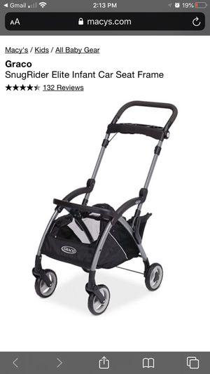 Graco SnugRider Elite Infant Car Seat Frame Stroller for Sale in Covington, WA