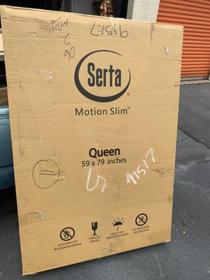 Serta Motion Slim Adjustable Power Base - Queen for Sale in Norcross, GA