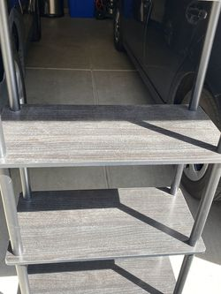 """Shelves 🌺🦌H 44"""" W 24"""" D 12"""" Black for Sale in Chino Hills,  CA"""