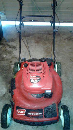 Toro lawn mower self-propelled 6.5hp engine for Sale in Nashville, TN