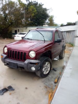 2002 Jeep Liberty 3.7L (parts only) for Sale in Houston, TX