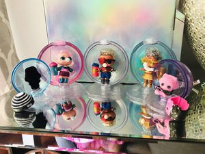 5 LOL Surprise Winter Disco Dolls New with Globes for Sale in Hayward, CA