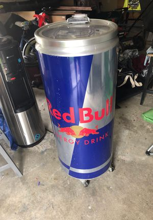 Red Bull refrigerated cooler ( plugs in -no ice needed) for Sale in Virginia Beach, VA