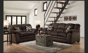 I Furniture sofa and love El Rio furniture finance available down payment $39 1456 belt line rd suite 121 Garland tx 75044 Open from 9:30-8:30 for Sale in Garland, TX
