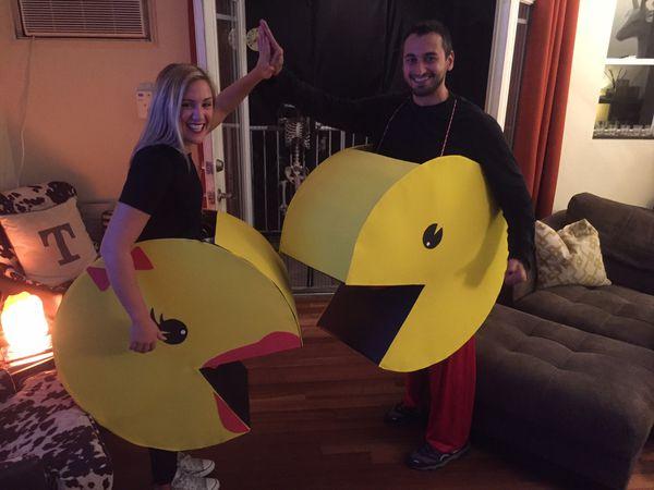 Mr and Mrs Packman- handmade costumes (Tribeca manhattan)