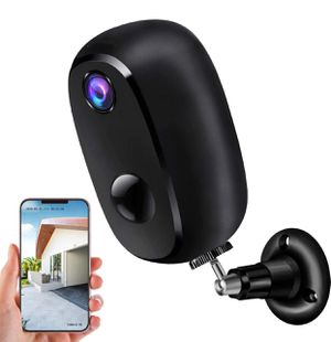 Brand New Wifi 1080p Security Camera Outdoor Wireless, Rechargeable Battery-Powered Home Security Camera, Surveillance WiFi 1080P Camera, with 10000 for Sale in Hayward, CA