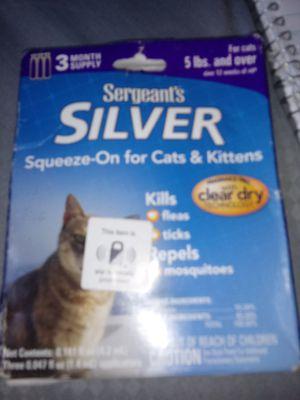 Flea..tick..3mnth..sergants silver for Sale in Fairmont, WV