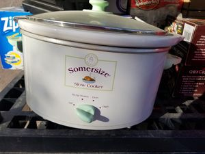 Suzanne sommers crock pot slow cook for Sale in North Las Vegas, NV