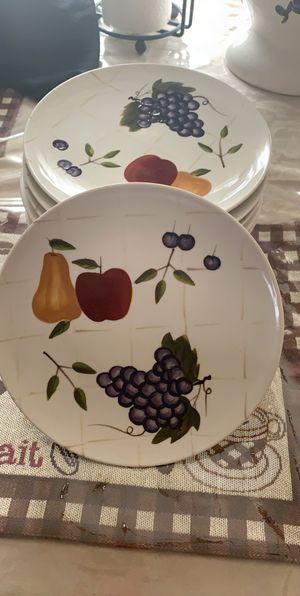 Home Interior Fruit Salad Plates / Platos De Fruta De Home Interior for Sale in Pearland, TX