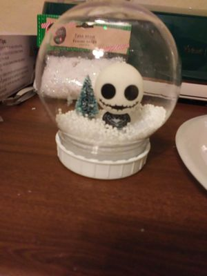 Shatter proof nightmare before Christmas globe for Sale in Phoenix, AZ
