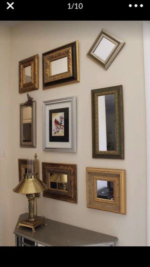 Gold and Silver Mirrors for Sale in Davie, FL