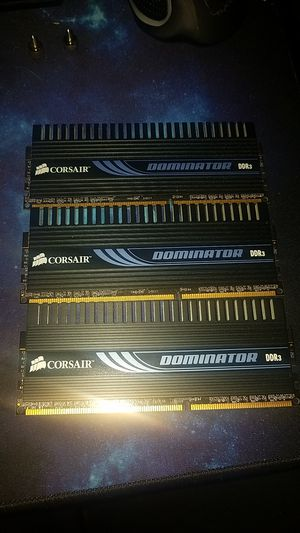 Corsair DOMINATOR ddr3 RAM 6GB (2x3) for Sale in Broadway, NC