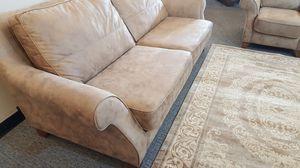Luxurious European Sofa+ Chair + Rug for Sale in Niles, IL