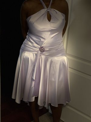 Silky lavender dress size 14 for Sale in Snellville, GA