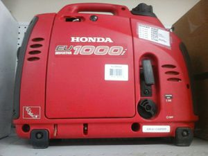 Honda eu 1000 inverter generator for Sale in Fort Lauderdale, FL