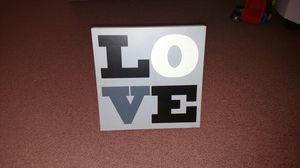 """LOVE"" Decorative Picture Board for Sale in Manassas, VA"