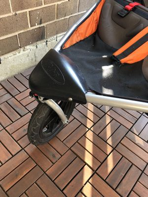 BOB double stroller - Orange for Sale in New York, NY