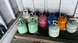 freon m for sale jugs have more then half .....tankes a la mitad. for Sale in Los Angeles, CA