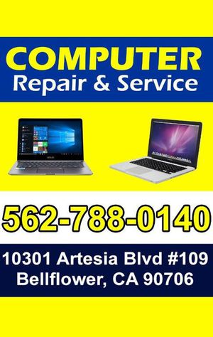 We also sell used & refurbished laptops dell lenovo for Sale in Bellflower, CA