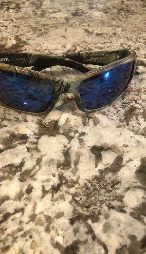 Costa Del Mar 580p black fin camo glasses for Sale in Fort Lauderdale, FL