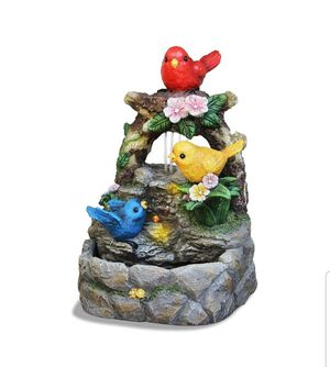 Feathered Friends Led Fountain for Sale in Jordan Mines, VA