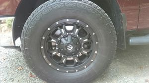 """Fuel rims 18"""" for sale for Sale in Chapel Hill, NC"""