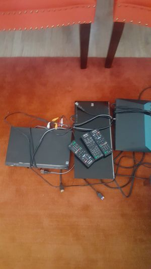 3 sony blueray dvd players!!!! for Sale in Fairfax, VA