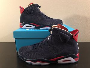 Air Jordan retro 6 doernbecher db size 10.5 ds with Nike receipt for Sale in Bonney Lake, WA