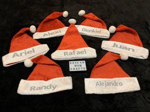 Personalized Christmas Santa hats for Sale in Miami, FL