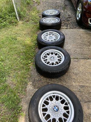 15 inch bmw rim and tire e39 for Sale in FAIRMOUNT HGT, MD
