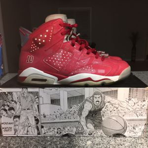 Jordan retro 6 slam dunk size 11 for Sale in Fairfield, CA