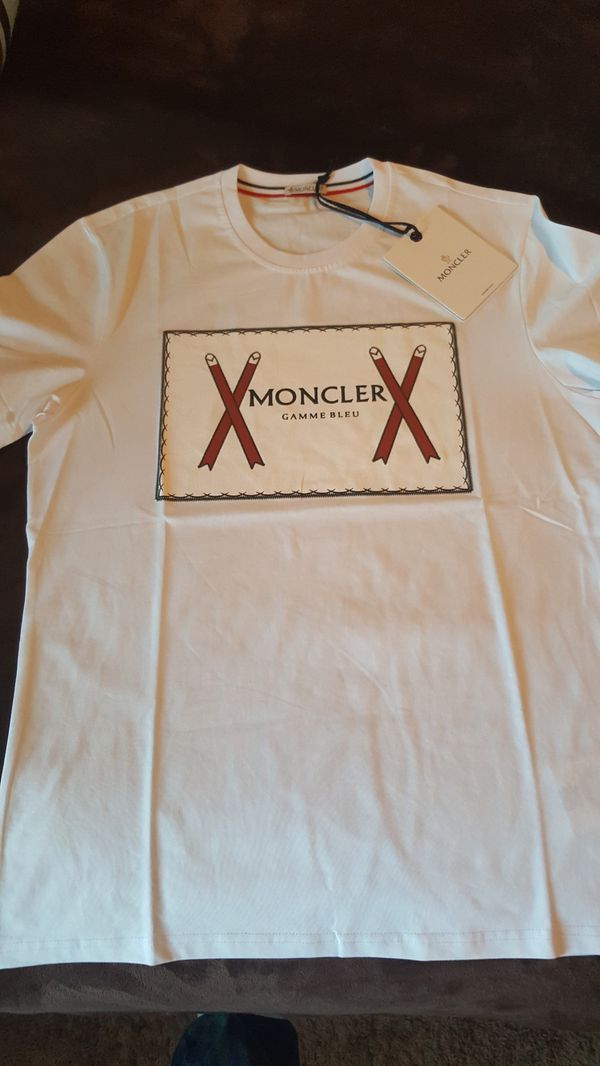 570e8a77 Moncler Graphic T-Shirt - Medium. for Sale in Fort Worth, TX - OfferUp
